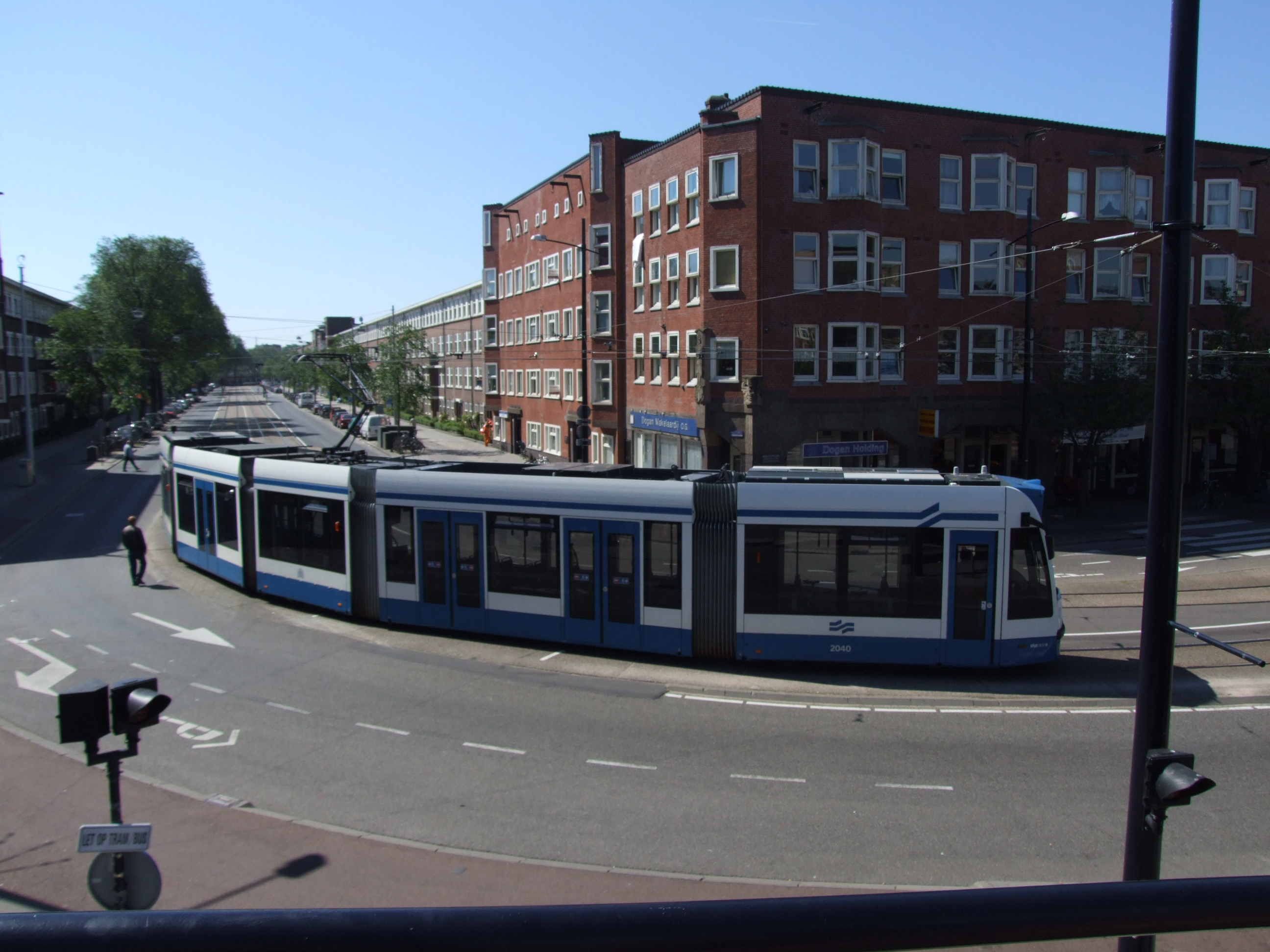 7: Tram 5008, Brüssel (Brussels) is from the Museum in Amsterdam. -  Mercatorplain.